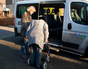 instappen in Plusbus