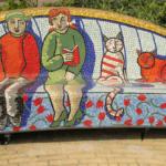 mozaiekbank social sofa